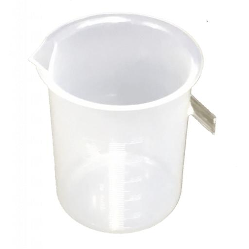 Displacement vessel plastic, 500ml