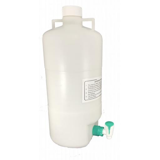 ASPIRATOR BOTTLE POLYPROPYLENE 10LT