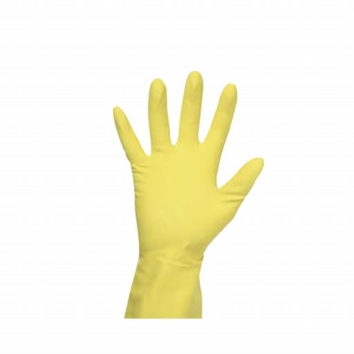 RUBBER GLOVES PK12 MEDIUM