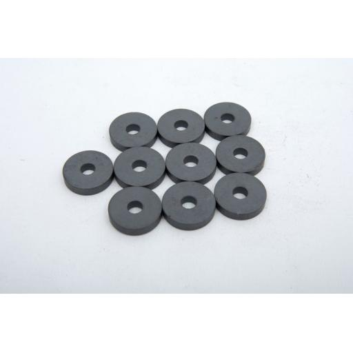 Ring Magnets - 24mm Dia pk10