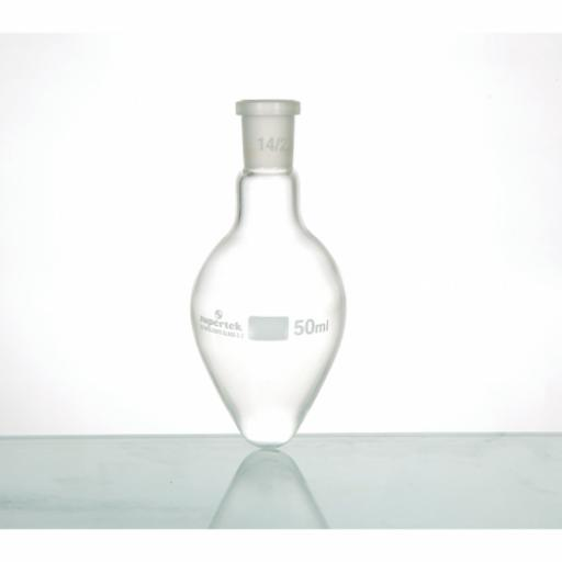 100ml pear bottom flask, 14/23