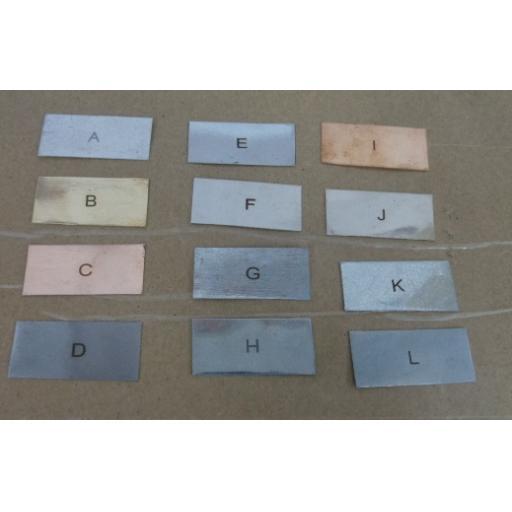 Metal Testing Strips