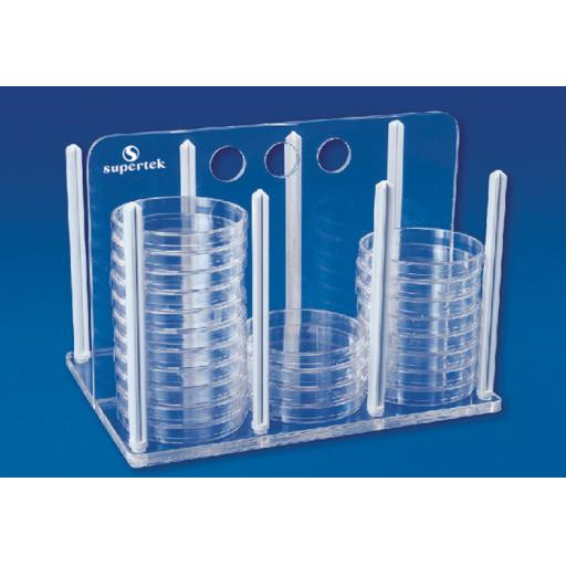 Rack For 50mm Petri Dishes