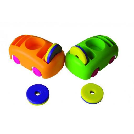 Bumper Cars & Ring Magnets Set