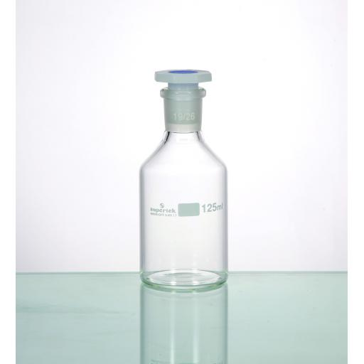 Reagent Bottles, clear glass with interchangable dust proof stopper, 500ml