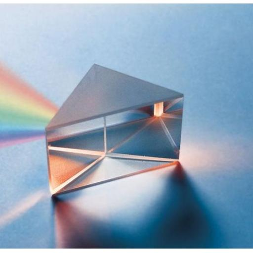Prism glass right angled, 50mm, regular quality
