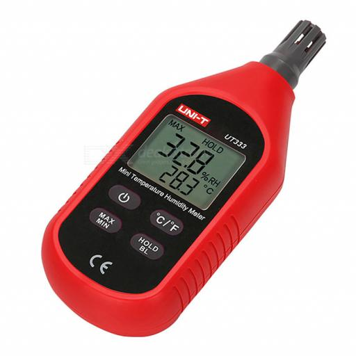 Temperature & Humidity Meter
