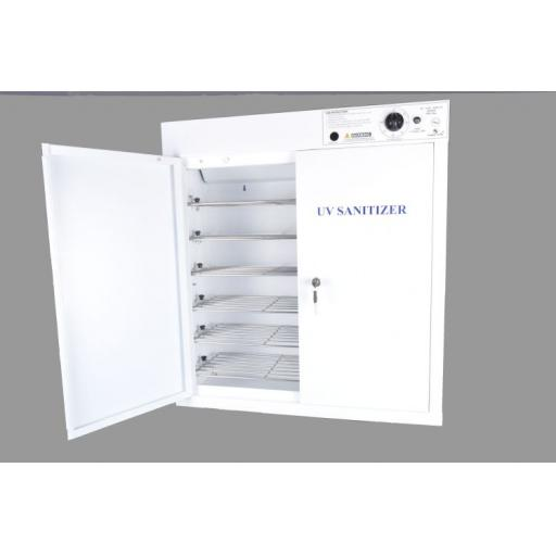 SAFETY GOGGLE / SPECTACLE SANITISER - UV SANITISING CABINET