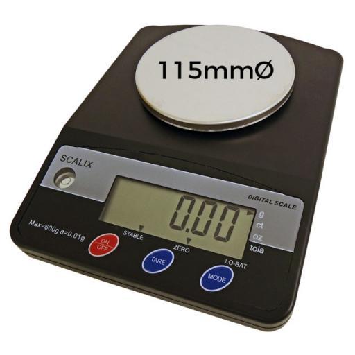Scalix 600g Precision Weighing Balance