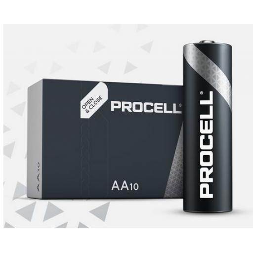 AA DURACELL PROCELL BATTERY PK10