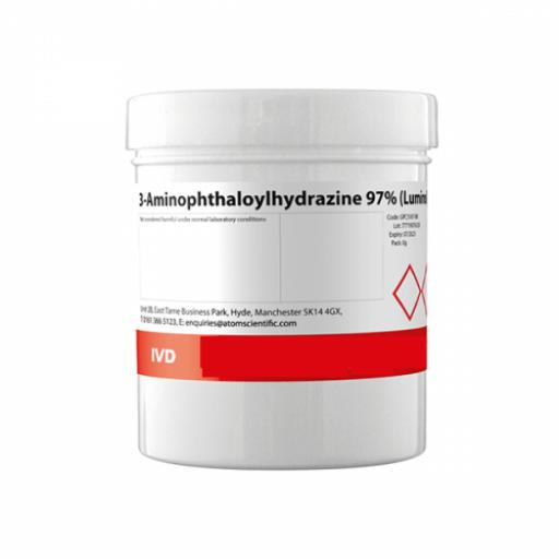 3-Aminophthaloylhydrazine 97% (Luminol) 1g
