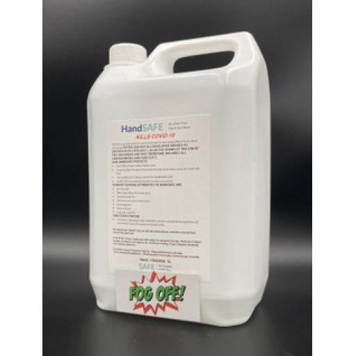 Alcohol Free Hand Sanitiser 5Lt refill