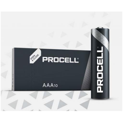 AAA DURACELL PROCELL BATTERY PK10