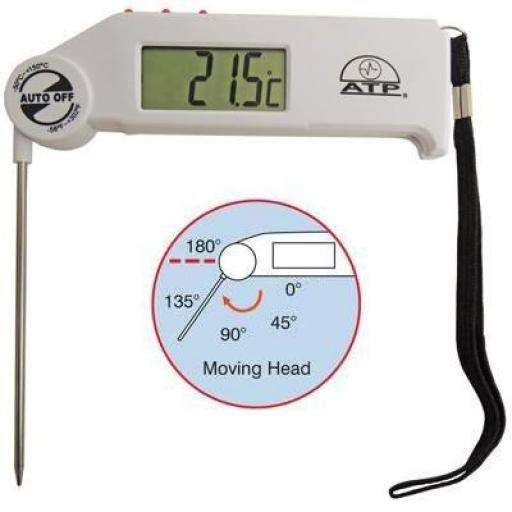 Folding Probe Thermometer