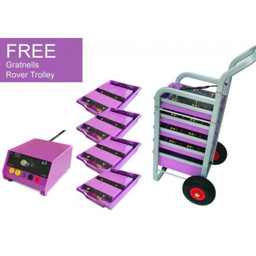 Class pack 16 x Volt Switch + FREE Gratnells Rover trolley