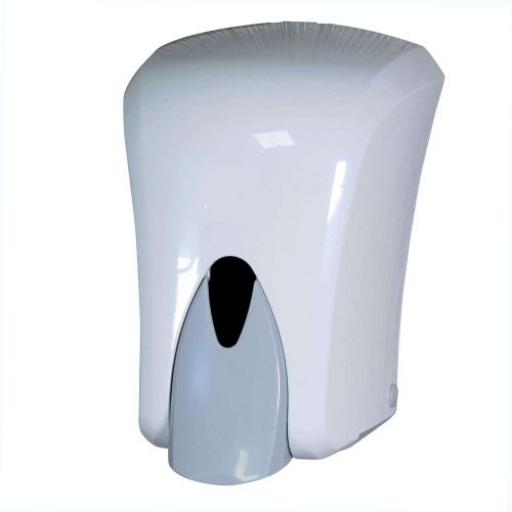 Soap / Alcohol Cartridge Dispenser White 1000ml