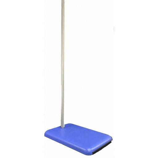 RETORT STAND WITH ROD WITH RUBBER FEET 25x16CM