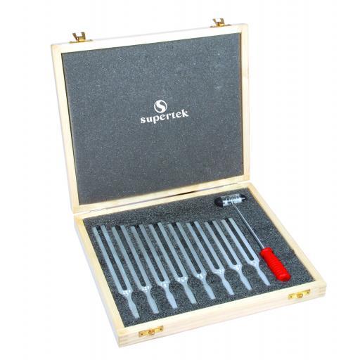 Tuning Forks, set of 8