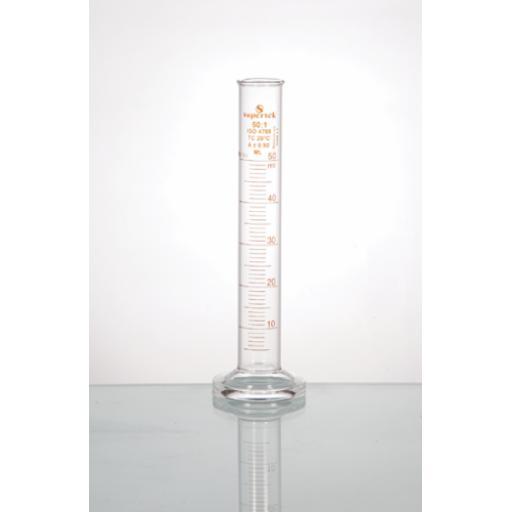 BOROSILICATE GLASS MEASURING CYLINDER 250ML
