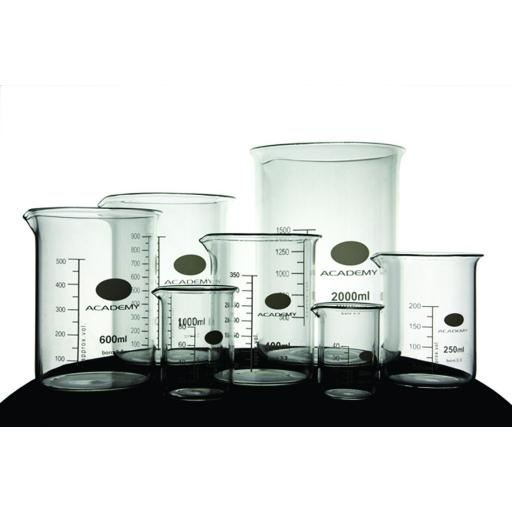 Academy low form beaker 1000ml