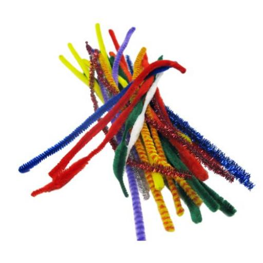 Pipe Cleaners Assorted PK250