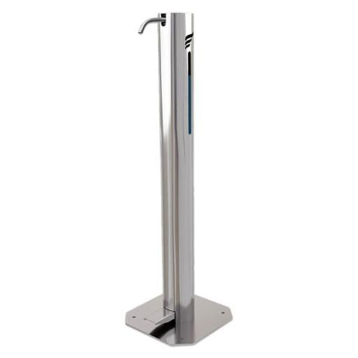 STAINLESS STEEL FOOT OPERATED SANITISING STATION 1LT