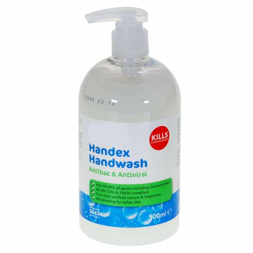 Antibac and Antiviral Hand Wash 500ml