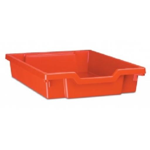 GRATNELLS SHALLOW TRAY RED