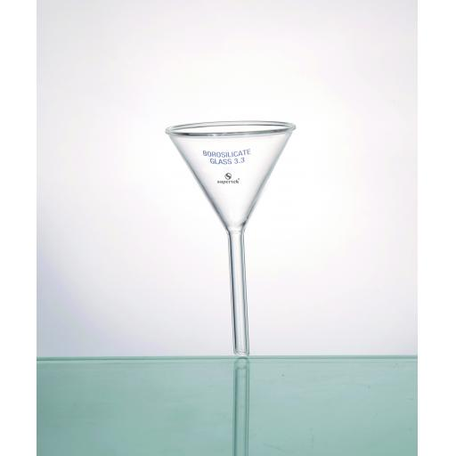 Glass Filter Funnel, Short Stem 10cm