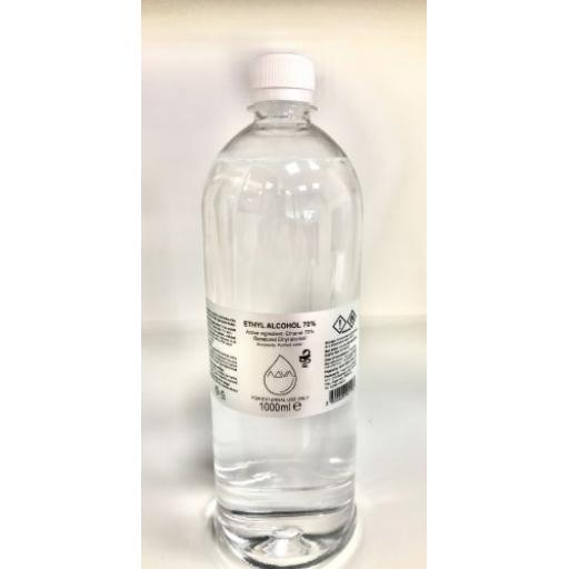 70% ALCOHOL Surface Cleaner 1Litre
