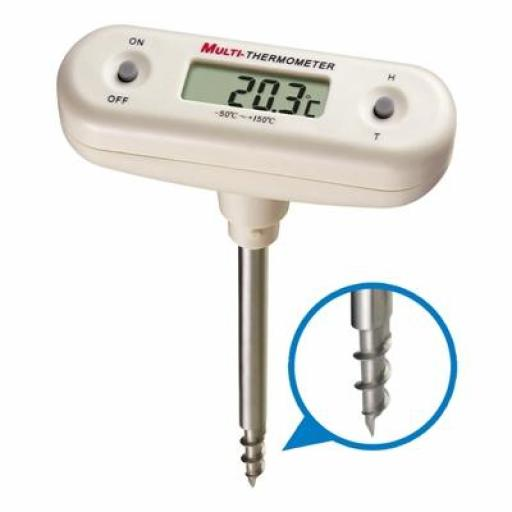 Corkscrew T Bar Thermometer