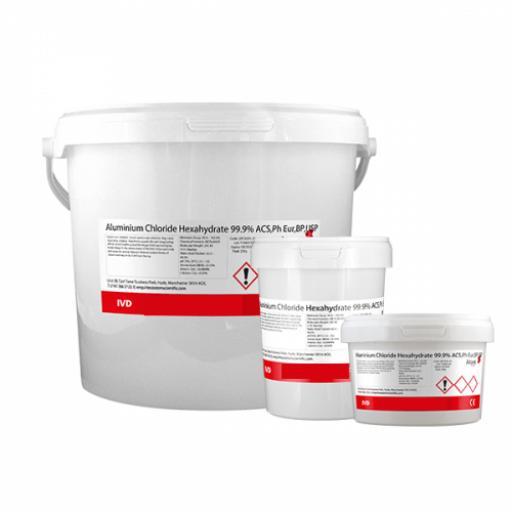 Aluminium Chloride Hexahydrate 99.9% ACS,Ph Eur,BP,USP 100g