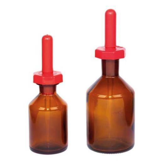 Dropping bottles, amber glass, 50ml
