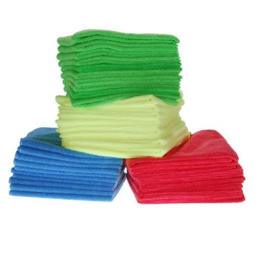 Microfibre Cloths 10 Pack YELLOW