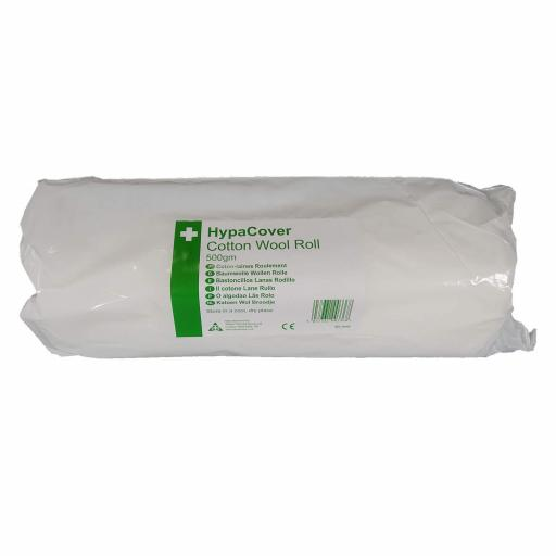 COTTON WOOL ABSORBENT, 500g ROLL