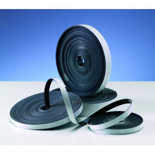 Magnetic Rubber Tape - 10m x 12mm