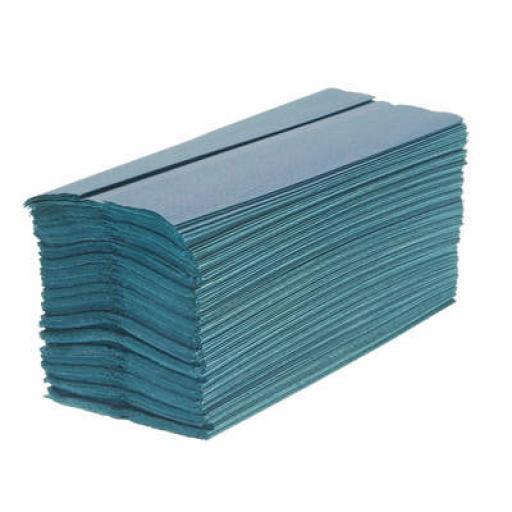 Soclean C Fold Blue Paper Towels 1ply Pk2640