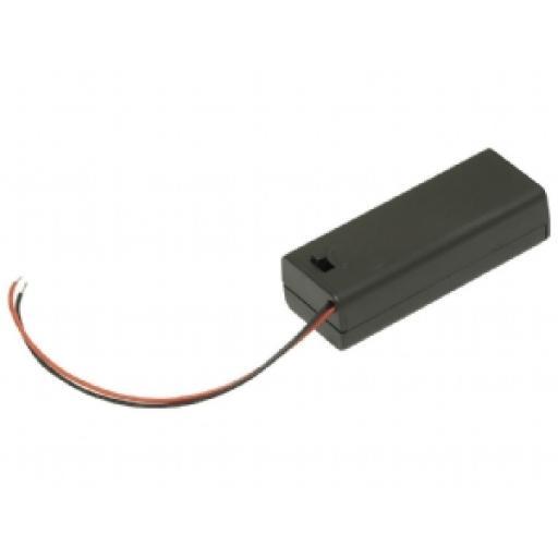 1 X AA SWITCHED Battery Box