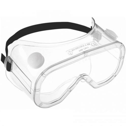 Safety Goggle Indirect Vent