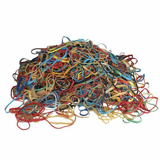 RUBBER BANDS 450G Pack