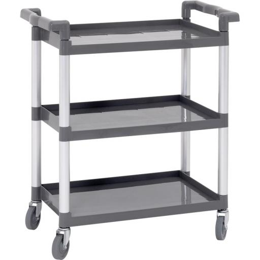 SMALL 3 TIER PP TROLLEY