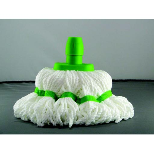 Microfibre Mop Head Green