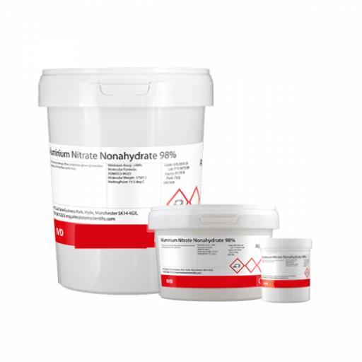 Aluminium Nitrate Nonahydrate 98% 250g