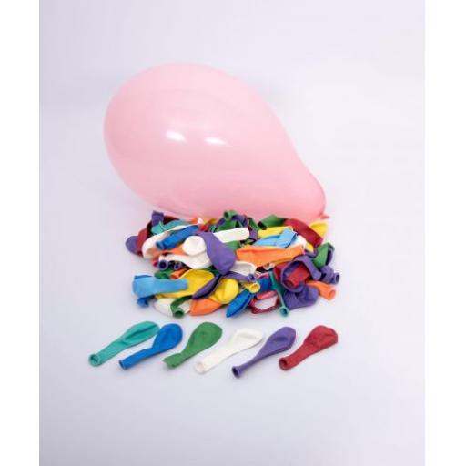 175mm Round Balloons - Pk100