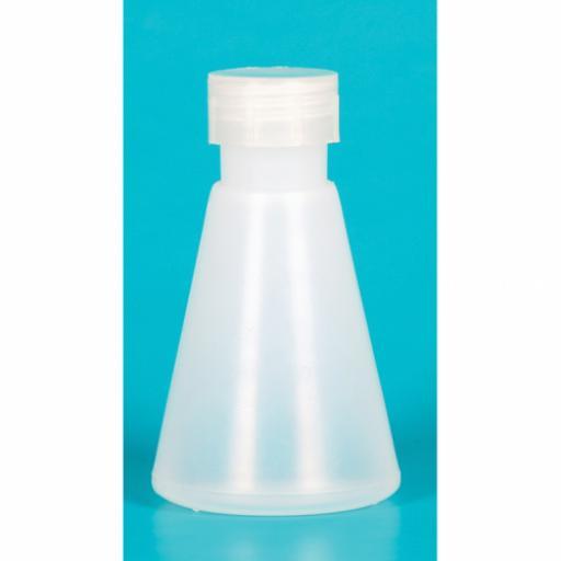 Flask, Conical, Polypropylene 100ml
