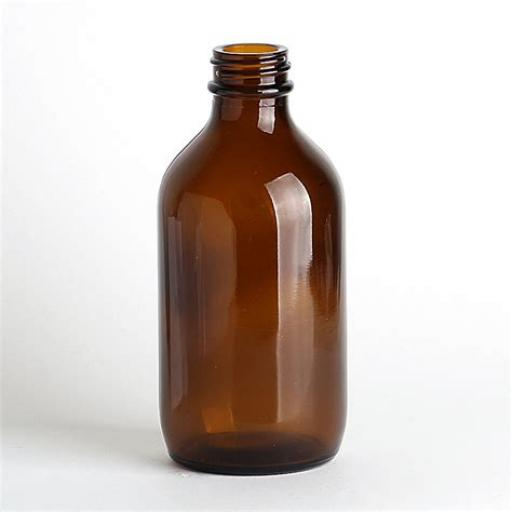 Bottle Winchester Pattern Amber Glass, 500ml