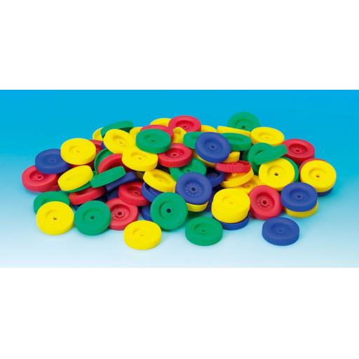 PLASTIC WHEEL - Pk100