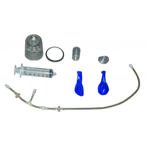 Bell Jar And Vacuum Pump Set