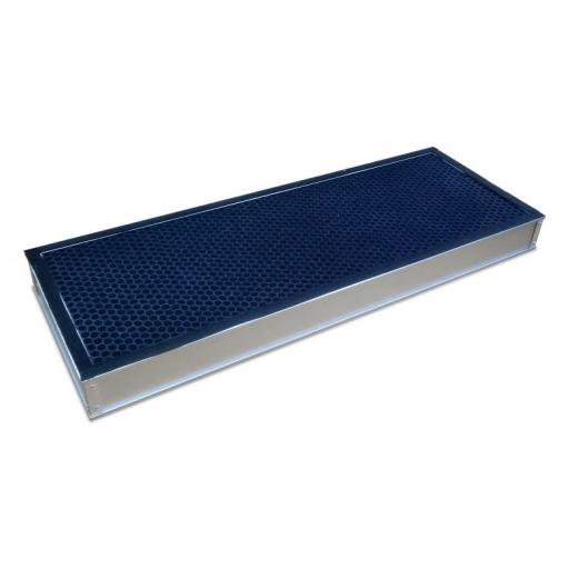 Carbon filter for ductless fume hood size 900mm (rear loading)