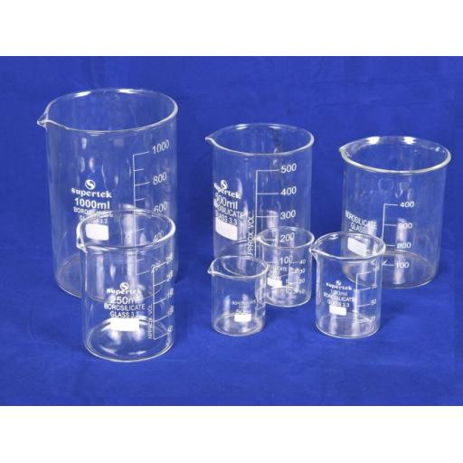 BOROSILICATE GLASS BEAKER 250ml